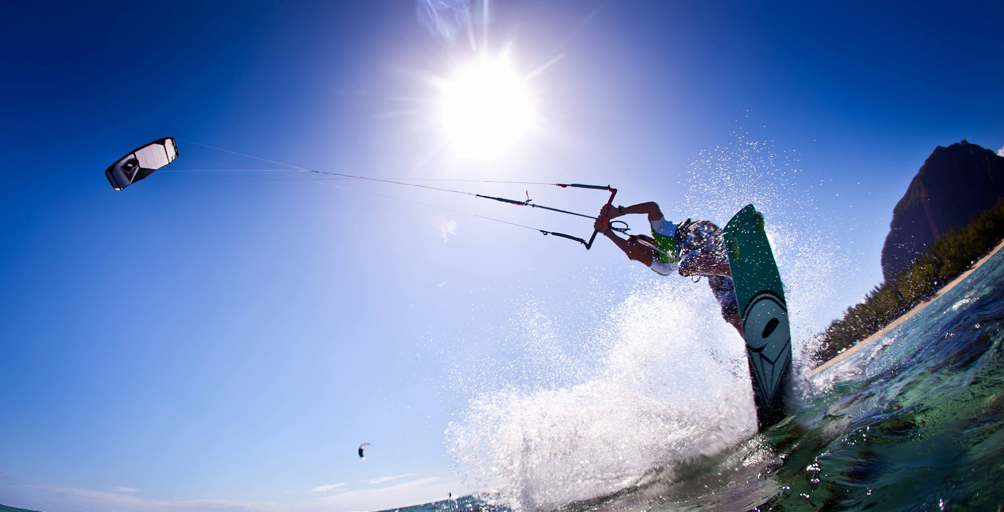 Oswald smith Brainline kite surfer