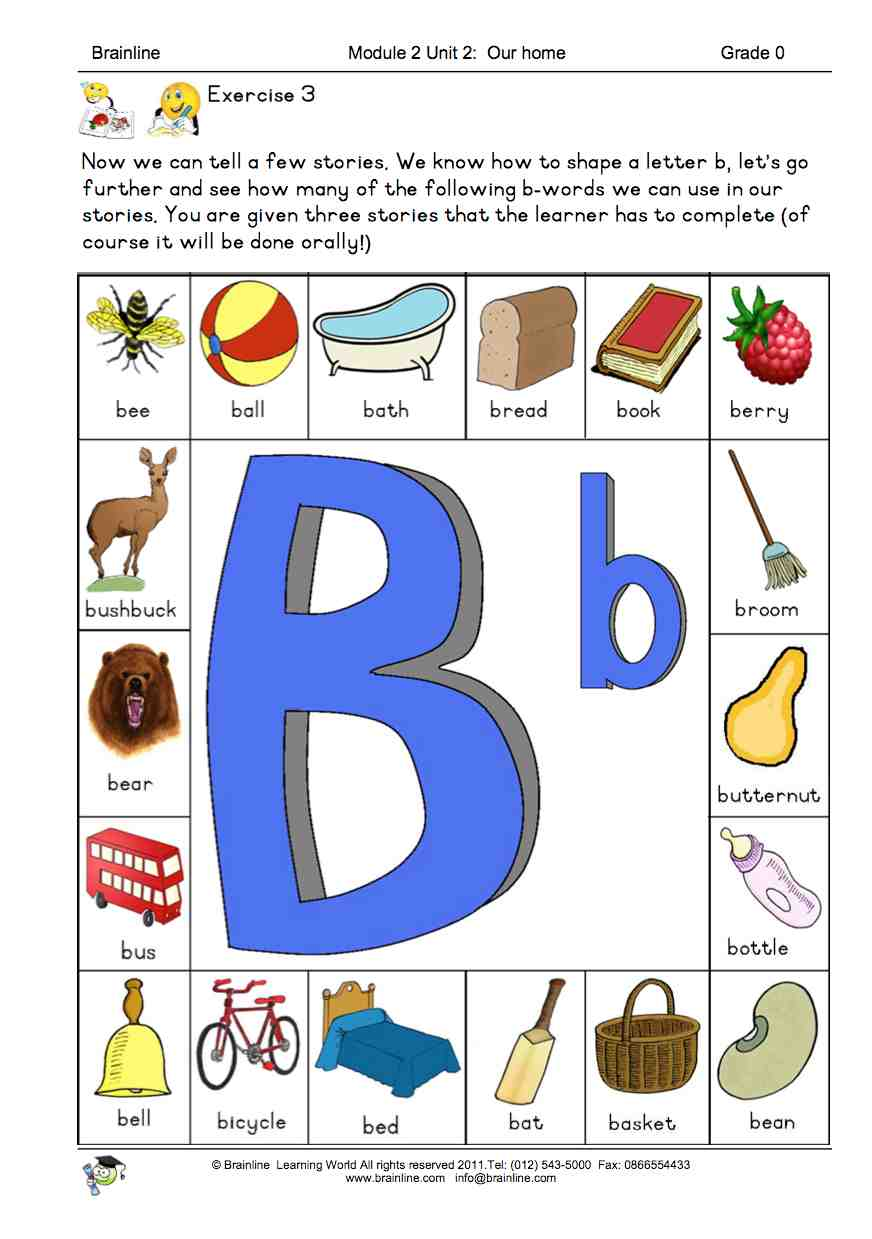 Brainline Grade R Letters