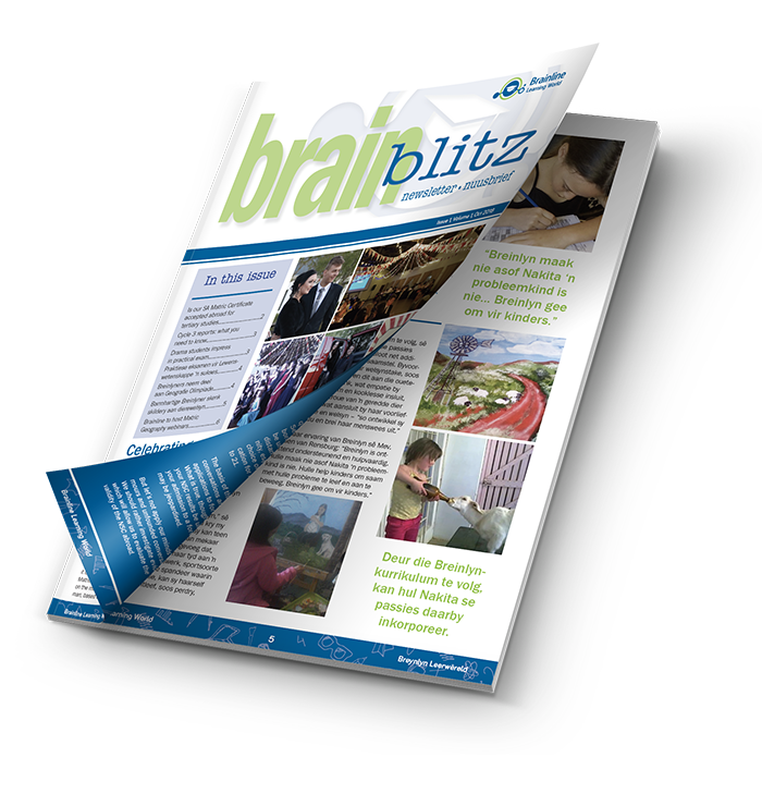 BrainBLITZ Brainline Newsletter