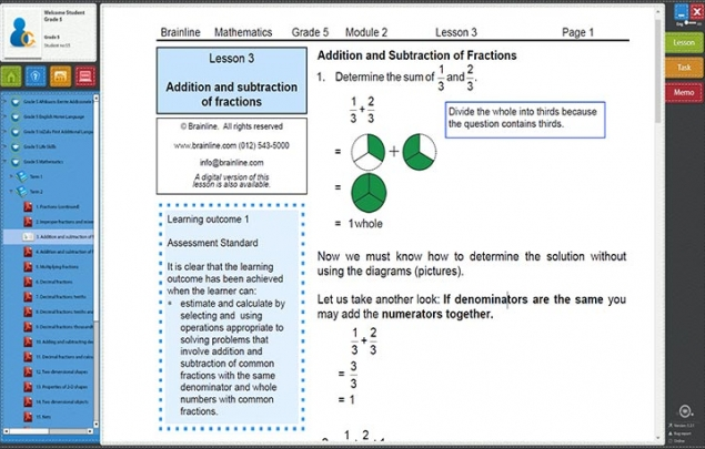 Homeschooling Grade R to Matric - Brainline